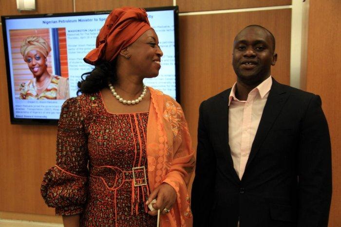 Femi Soneye & the Minister Of PetroleumDiezani Alison-Madueke