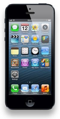 Apple iPhone 5: 123.8 x 58.6 x 7.6 mm, 112g
