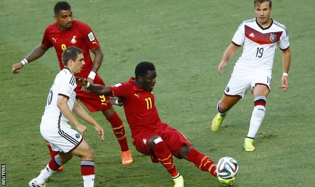 Kevin-Prince Boateng and Sulley Muntari have played in Ghana's two games so far