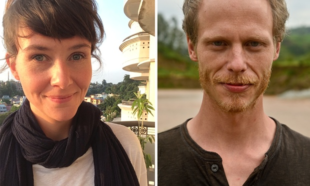 Filmmakers Neil Bonner and Rebecca Prosser were arrested by the Indonesian navy off the western island of Batam in May for working on tourist visas